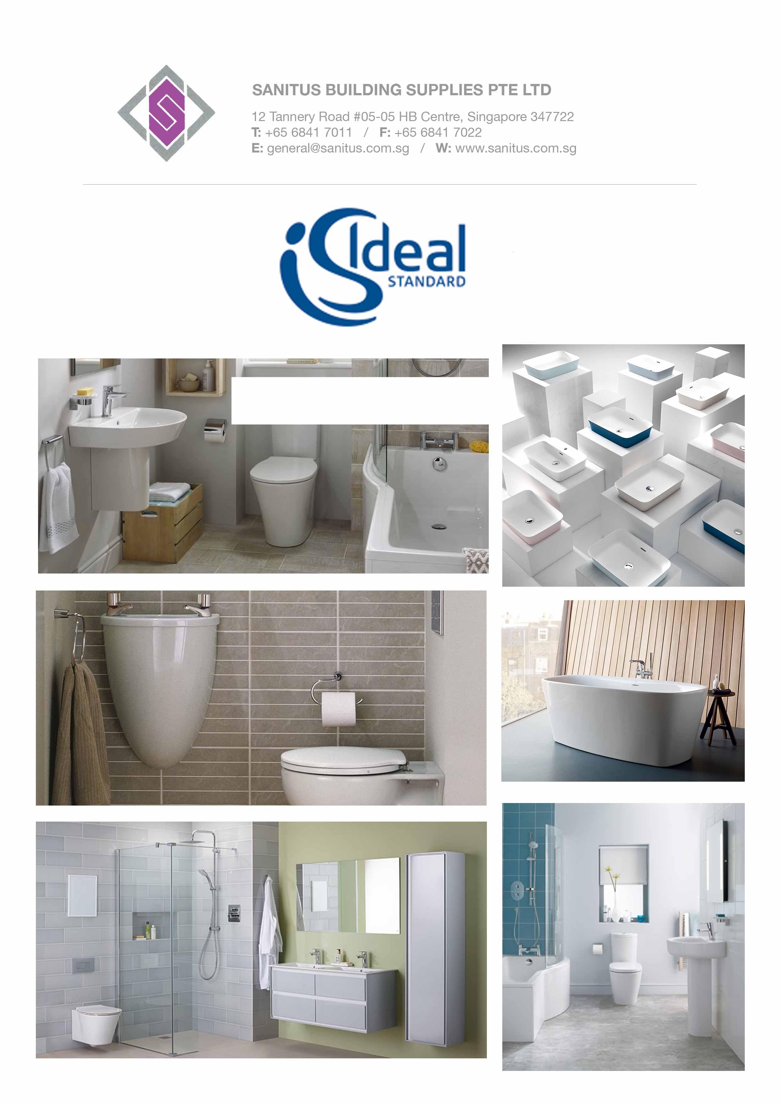 Ideal Standard Sanitus Building Supplies Pte Ltd
